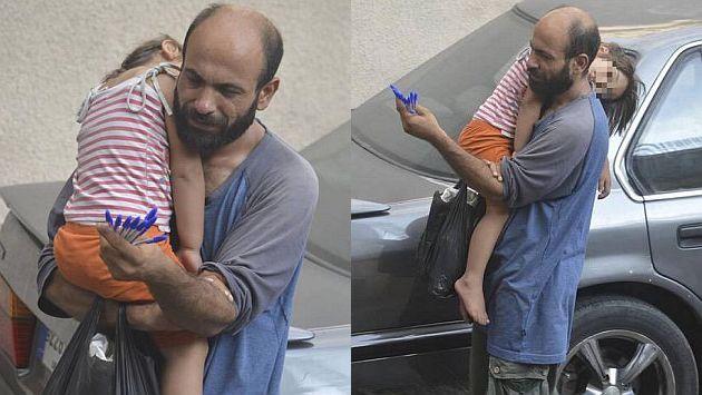 Twitter: Estas fotos cambiaron la vida de refugiado sirio que vendía lapiceros en la calle