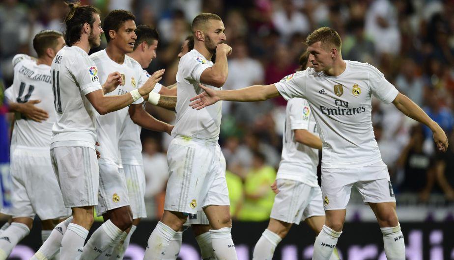 Real Madrid despertó y goleó 5-0 al Real Betis del 'Loco' Vargas [Fotos y video]