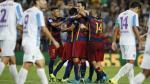 Barcelona venció 1-0 Málaga y sumó su segunda victoria consecutiva en La Liga española - Noticias de javier torrente