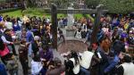 La devoción a Santa Rosa de Lima congrega a miles de personas (El Comercio)