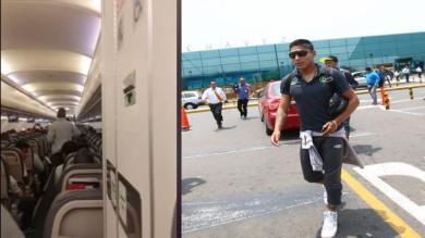 Universitario de Deportes recibió un peculiar homenaje a su llegada a Lima. (YouTube)