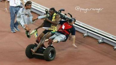 Usain Bolt y los memes más graciosos de su inesperada caída [Fotos]