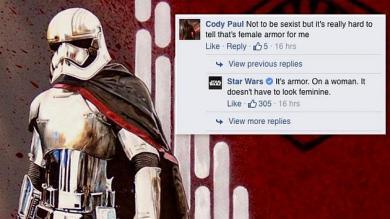 Facebook, Star Wars