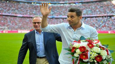 Claudio Pizarro recibió emotiva despedida por parte del Bayern Munich [Video]