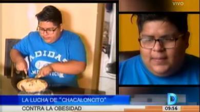 'Chacaloncito' dejó la comida 'chatarra' en su lucha contra la obesidad [Video]
