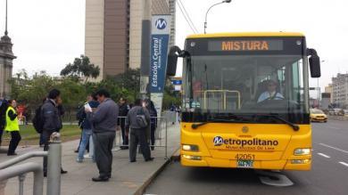 Metropolitano, Mistura 2015