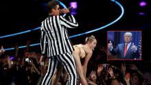 Miley Cyrus, Donald Trump, VMA