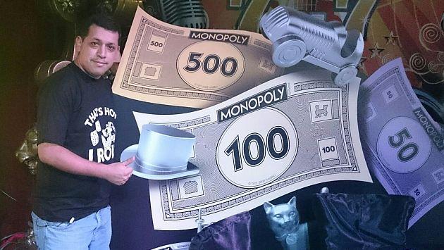 Luis Castillo será nuestro representante en campeonato mundial de Monopoly en China. (Difusión)
