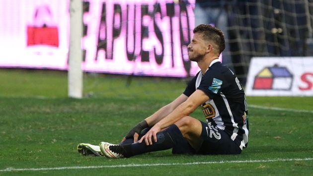 Alianza Lima cayó 1-0 ante San Martín y sumó su segunda derrota en el Torneo Clausura. (USI)