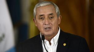 Fiscalía emitió orden de captura contra presidente de Guatemala, Otto Pérez Molina