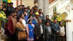 Movimientos sociales respaldan a Evo Morales para su reelección indefinida. (Diario La Razón de Bolivia)