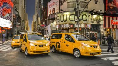 El 'Taxi del Mañana' ya es una realidad en las calles de Nueva York [Fotos]