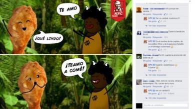 KFC publicó mensaje racista en Facebook y lo borra ante críticas de seguidores