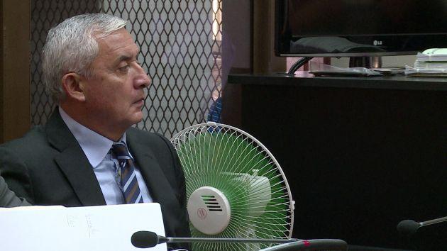 Otto Pérez Molina: Dictaron 3 meses de prisión preventiva para expresidente de Guatemala