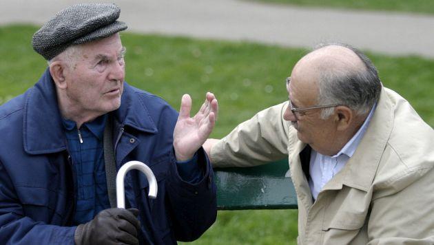 Entre el 20% y 40% de los afectados por Alzheimer tiene más de 85 años. (EFE)