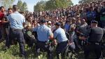 Croacia se convirtió en el nuevo punto de ingreso para inmigrantes [Fotos y video] - Noticias de comisión por flujo