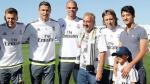 Cristiano Ronaldo cumple sueño de niño sirio refugiado en España - Noticias de rafael benitez