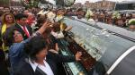 Freddy Ternero recibió el último adiós en el cementerio Campo Fe de Huachipa [Fotos y video] - Noticias de juvenal silva