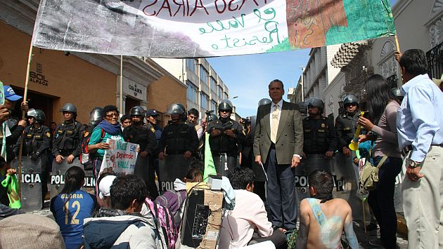 Movilización en Arequipa fue pacífica. (USI/Referencial)