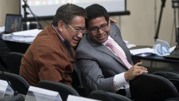 Video manda. Fiscal Walther Delgado denunció que en la grabación se constata que comisión trabajó en el cuarto de narco brasileño. (Anthony Niño de Guzmán)