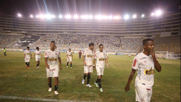 Universitario de Deportes perdió 2-0 ante Melgar y se aleja primeros puesto del Torneo Clausura. (USI)