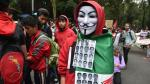 Ayotzinapa: Conmemoran un año de la desaparición de 43 estudiantes con marchas en México [Fotos] - Noticias de plaza lima sur