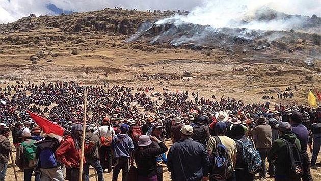 Las Bambas: Ya son 4 los muertos por protesta contra proyecto minero. (EFE)