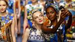 Instagram: Modelos de Dolce & Gabbana convirtieron desfile en 'pasarela de selfies' [Fotos] - Noticias de milan fashion week