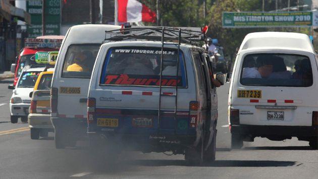 El uso de aditivos ayuda a reducir la contaminación proveniente de los vehículos. (Perú21)