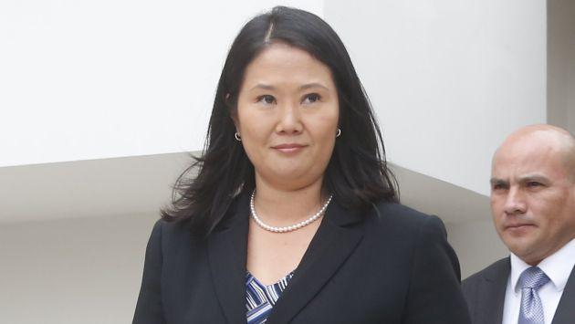 Keiko Fujimori: Afirman que se contradice. (Percy Ramírez)