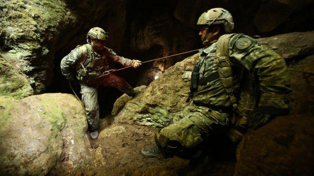 Otro accidente. El año pasado, un espeleólogo español cayó a una cueva y estuvo ahí 12 días. (USI)