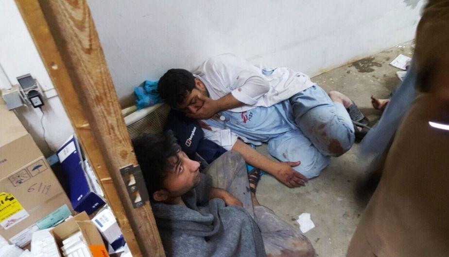 Médicos Sin Fronteras anunció que 16 de sus especialistas murieron. (Imagen del hospital de MSF atacado en Kunduz/ Elmundo.es)Médicos Sin Fronteras anunció que 16 de sus especialistas murieron. (Imagen del hospital de MSF atacado en Kunduz/ Elmundo.es)
