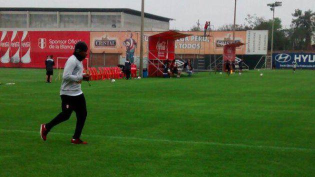 Jeffersón llegó a Lima con una tendinítis. (Perú21)