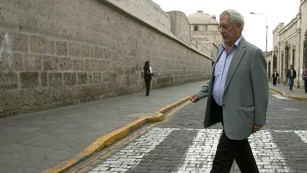 Mario Vargas Llosa no ve con buenos ojos las candidaturas de Keiko Fujimori y Alan García (Mario Zapata)