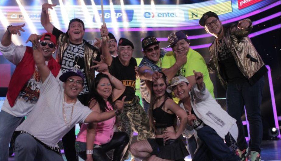 Edwin Donayre y congresista Teófilo Gamarra bailaron reggaetón en la Teletón 2015. (Difusión)