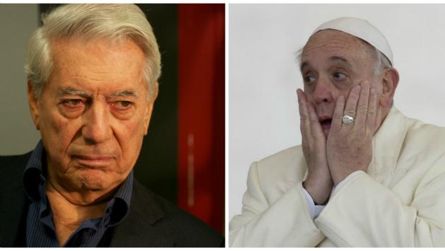 Mario Vargas Llosa respondió a las críticas del Papa Francisco contra el capitalismo