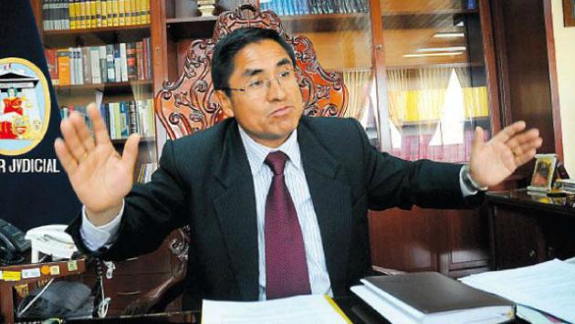 OCMA abrió investigación al presidente del Poder Judicial del Callao, César Hinostroza Pariachi. (IDL)