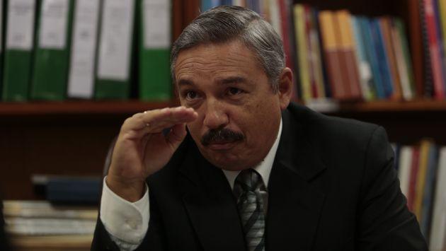Alberto Beingolea dijo que el Ejército no es propiedad de Ollanta Humala. (Nancy Dueñas)