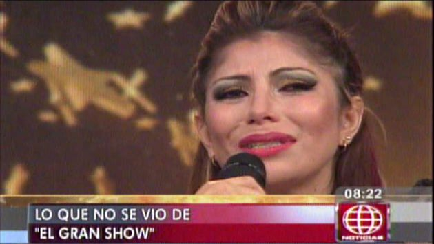 Milena Zárate confesó que sufre cáncer de piel desde hace 10 años. (América TV)