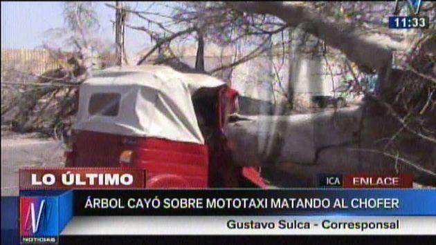 Accidente dejó gravemente heridos a tres escolares en Ica. (Canal N)