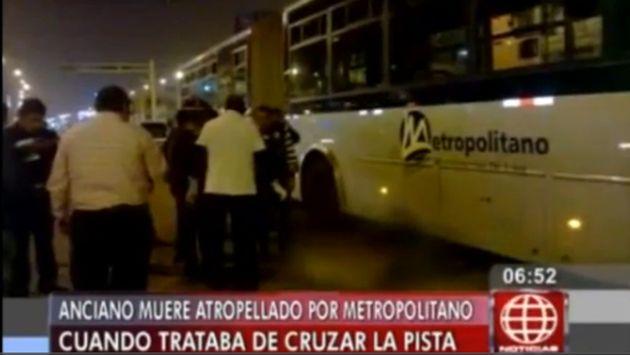 Luis Osorio Chávez, de 68 años, no respetó la luz del semáforo. (América)