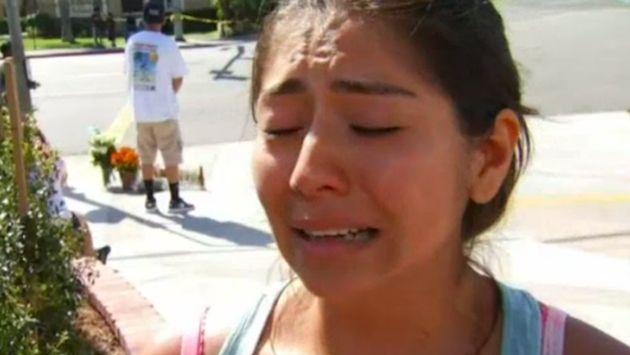 Después de que el equipo médico limpiara a su hermano, Medina comentó que pudo despedirse de él. (NBC LA / Via nbclosangeles.com)