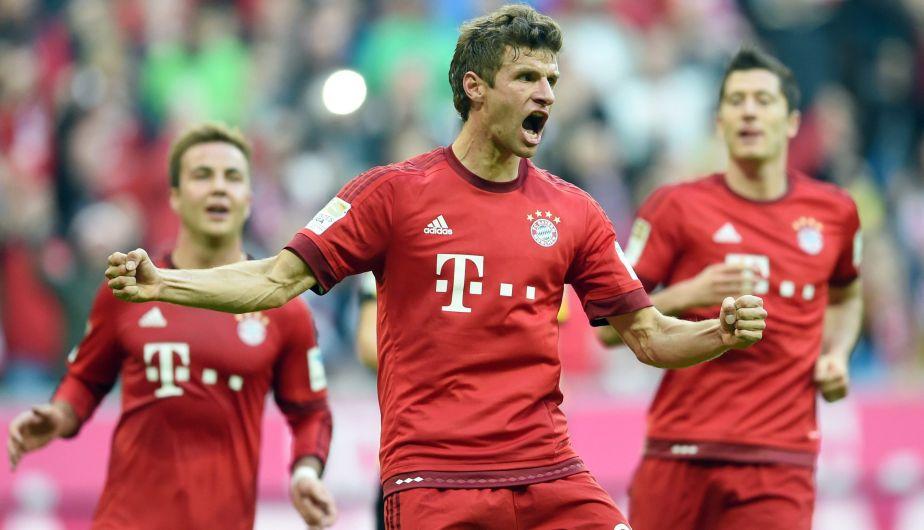 Lewandowski, Muller y Goetze fueron los autores de la goleada.(EFE)