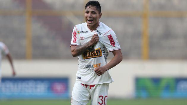 Universitario de Deportes tomó la punta del Torneo Clausura con un tanto de Raúl Ruidíaz. (USI)