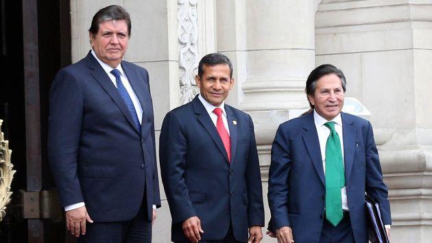 Alejandro Toledo, Alan García y Ollanta Humala deben ser citados por caso Lava Jato, opinan congresistas. (Perú21)