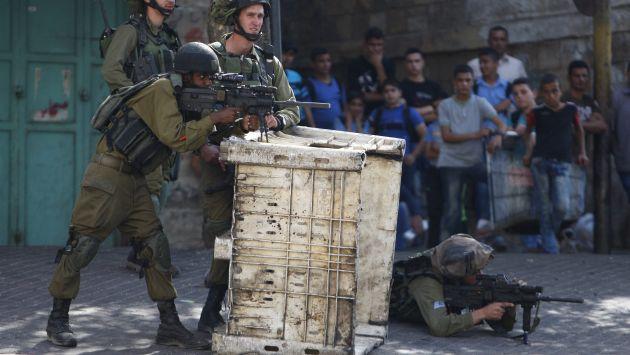 """El primer ministro de Israel calificó la acción como un """"combate a muerte contra el terrorismo palestino'. (Reuters)"""