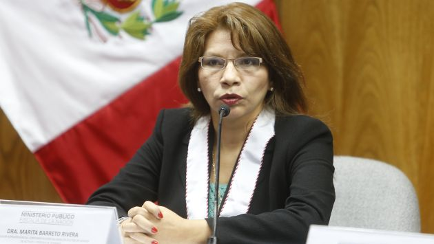 Solicitan que fiscal Marita Barreto sea ratificada en el caso Orellana. (Perú21)