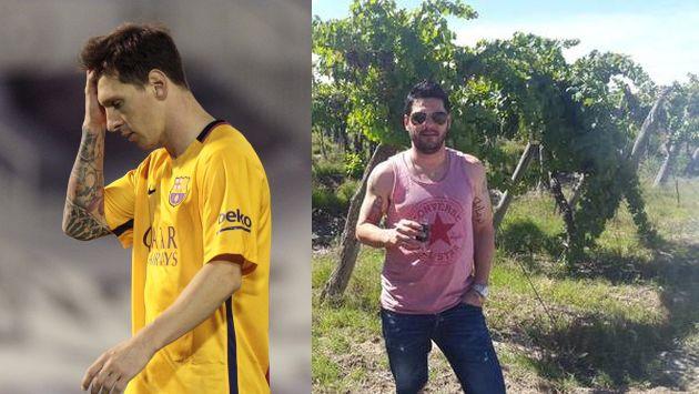 Hermano de Lionel Messi fue llevado a la comisaría donde solo estuvo por unas horas. (AP/Twitter)
