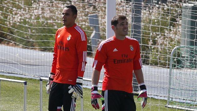 Iker Casillas y Keylor Navas llegaron a competir en Real Madrid. (Reuters)