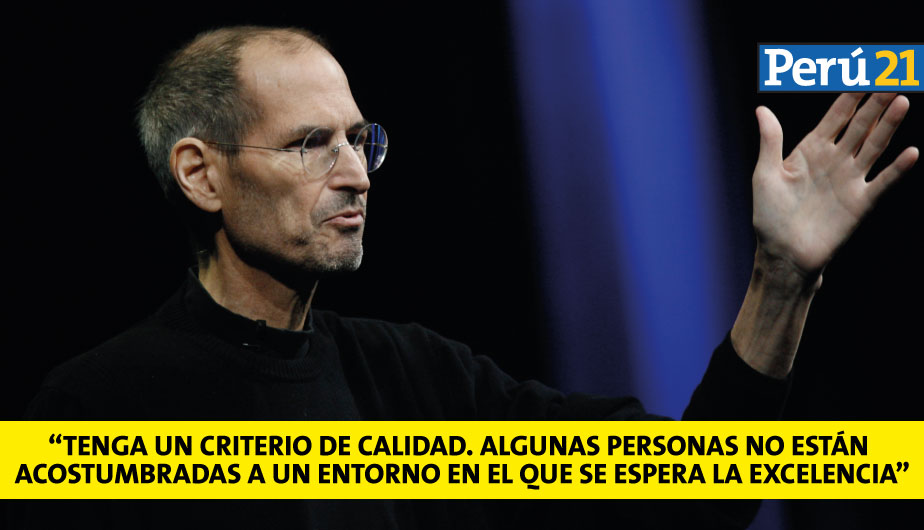 Steve Jobs: 10 frases a cuatro años de su muerte (AFP)